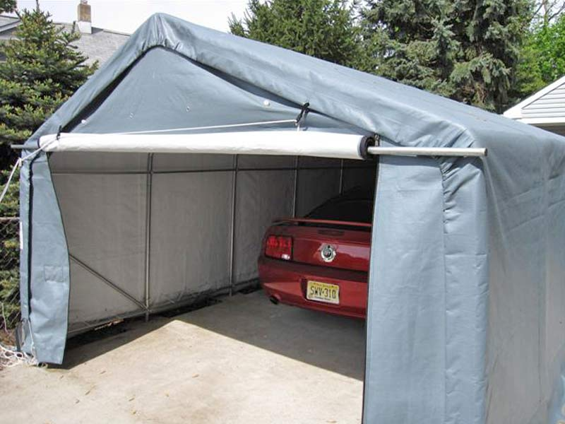 Instant Garages Collapsable : Portable garages quickgarage